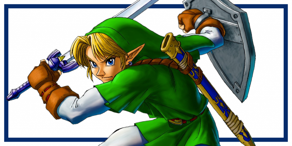 Link from Ocarina of Time