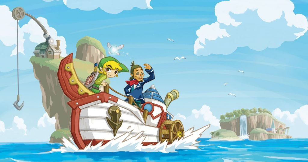 Link and Linebeck sailing