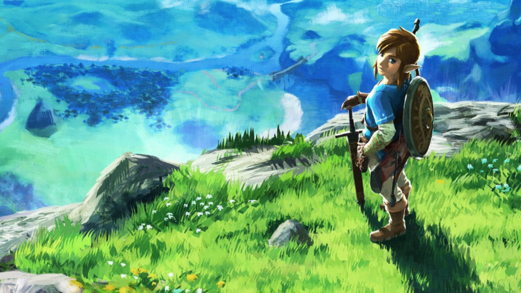 Link on the Great Plateau